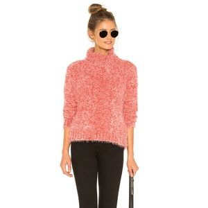 Jack BB Dakota Sweater XS Eyelash Kisses Pink